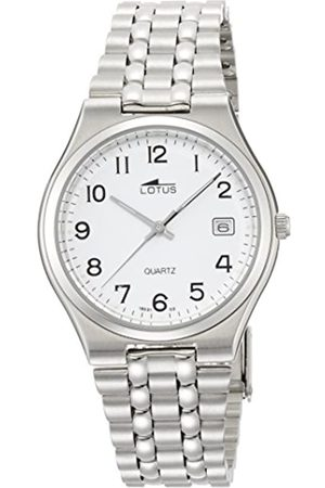 Lotus Herren Uhren - Herren Analog Quarz Uhr mit Edelstahl Armband 15031/2