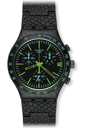 Swatch Herren-Armbanduhr Reptile Green YCB4014AG