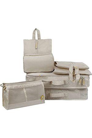 Lerben 7-teiliges Reisepackwürfel-Set, Gepäck-Organizer, Koffer