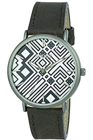 Snooz Herren Uhren - HerrenAnalogQuarzUhrmitLederArmbandSaa1041-76