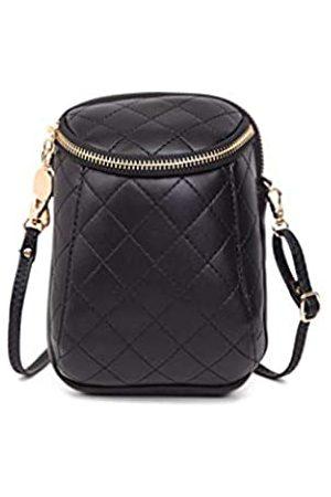 Jeelow Damen Umhängetaschen - Kleine Umhängetasche für Handys, Geldbörsen, Reisetasche, für Damen, PU-Leder, Diamant-gesteppt