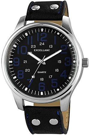 Excellanc Herren Uhren - Herren-Armbanduhr XL Analog Quarz Verschiedene Materialien 295021000142