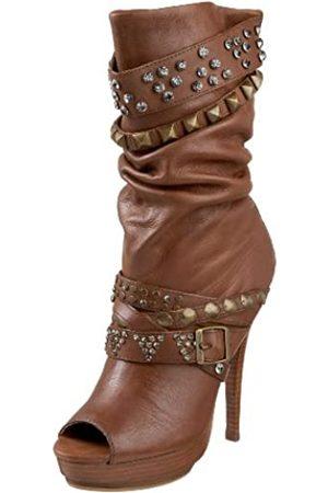 ZIGIny Damen Stiefel - Jagger-Stiefel für Damen, ( (tan))