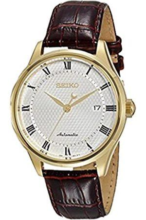 Seiko Herren-ArmbanduhrAnalogQuarzLederSRP770K1