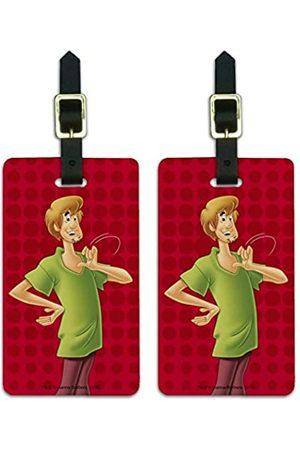 Graphics and More Damen Reisetaschen - Scooby-DOO Gepäckanhänger mit Zottelfigur, für Koffer