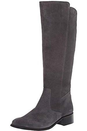 Driver Club USA Damen Stiefel - Damen Leather Luxury High Top Riding Boot Kniehoher Stiefel