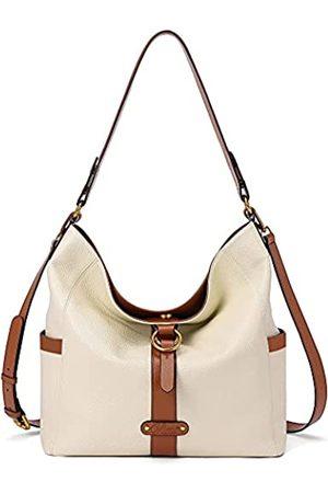 CLUCI Damen Umhängetaschen - Handbags Purse for Women Designer Genuine Leather Large Ladies Tote Hobo Vintage Shoulder Bags