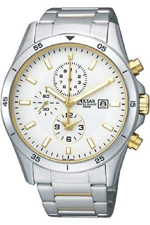 Pulsar Herren-Armbanduhr XL Analog Quarz Edelstahl PF8353X1