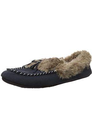 Acorn Damen Hausschuhe - Women's Cozy Faux Fur Moc Slipper
