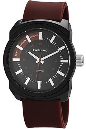 Excellanc Herren Uhren - Herren-Armbanduhr XL Analog Quarz Kautschuk 225677000020
