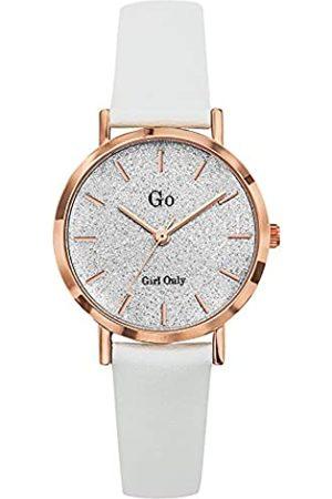 GO Girl Only Damen Uhren - Damen Analog Quarz Uhr mit Leder Armband 699901