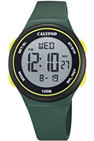 Calypso Unisex Digital Quarz Uhr mit Plastik Armband K5804/1