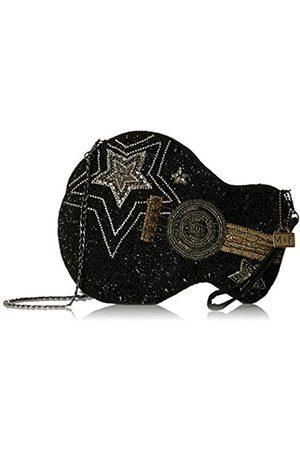 MARY FRANCES Damen Umhängetaschen - Superstar Handtasche für Gitarren mit Perlen, für Crossbody