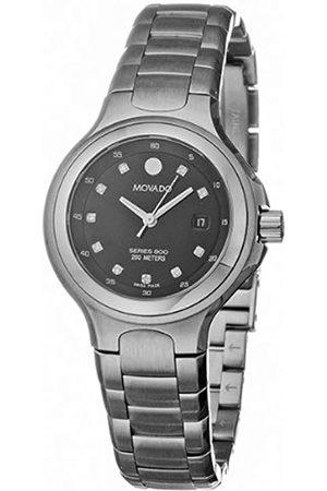 Movado Damen-Armbanduhr Analog Quarz Edelstahl 2600053