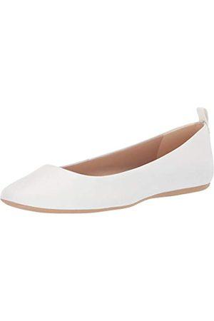 Karl Lagerfeld Damen Ballerinas - Damen Ballerinas Vada, Weiá (Bright White)
