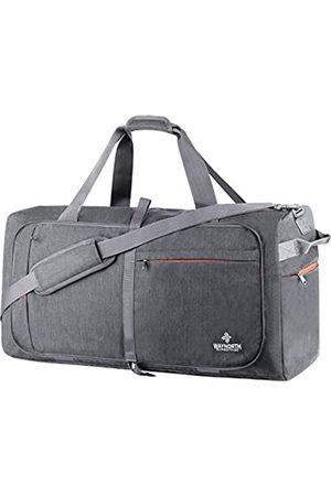 Waynorth Herren Reisetaschen - 65L Reisetasche für Damen Herren Faltbare Weekender Tasche Sport Gym Bag Wasserdicht Reißfest
