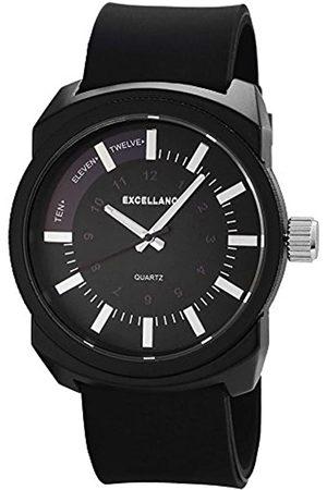 Excellanc Herren Uhren - Herren-Armbanduhr XL Analog Quarz Kautschuk 225673100020