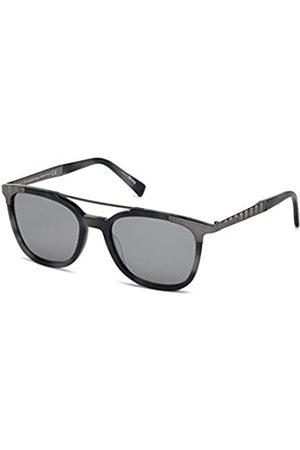 Ermenegildo Zegna Damen Sonnenbrillen - Unisex-Erwachsene EZ0073 56C 54 Sonnenbrille