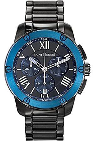 Saint Honore Herren Uhren - SaintHonoréHerrenAnalogQuarzUhrmitEdelstahlArmband88613377NDRAN