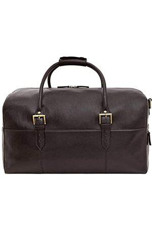 Hidesign Herren Reisetaschen - Charles Leather Cabin Travel Duffle Weekend Bag