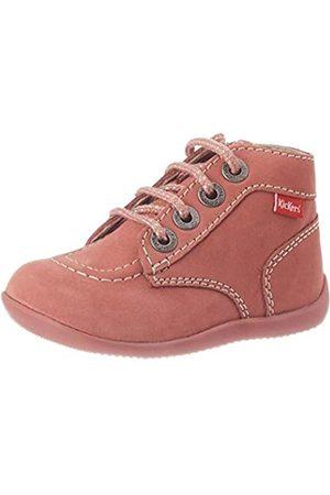 Kickers Stiefel - Unisex Kinder BONZIP Stiefel, Pink (Rose Clair Perm 131)