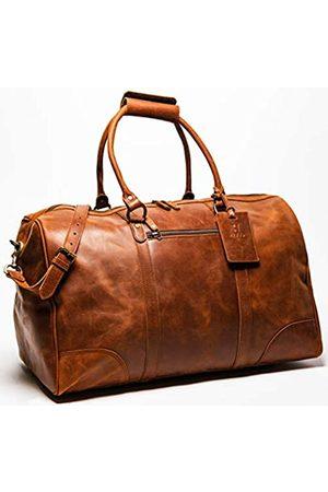 HIDES Reisetaschen - Reisetasche, 56 cm, Vollnarbenleder, Reisetasche