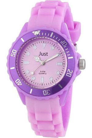 Just Watches Uhren - Unisex-Armbanduhr Rubber Strap Collection Analog Quarz Silikon 48-S5459-PR