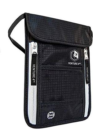 VENTURE 4TH Reise Brustbeutel Brusttasche Reisegeldbeutel mit RFID-Blockierung - Ideal zum Verstauen von Reisepass und Wertsachen