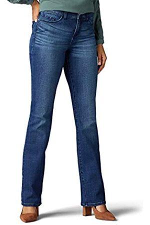 Lee Damen Straight - Damen Flex Motion Regular Fit Bootcut Jeans