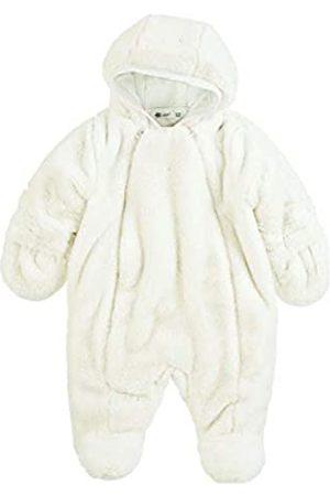 Sterntaler Baby Jumpsuits - M dchen Overall mit Rei verschluss Baumwollfutter und zur ckklappbaren Handschuhen Flausch Wattiert