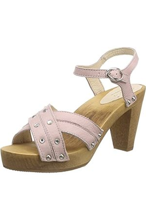 Sanita Damen Penny Sandal Plateau, Pink (Nude 33)