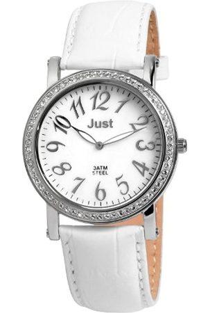 Just Watches Damen Uhren - Just Damenarmbanduhr Quarz 48-S3012A-WH