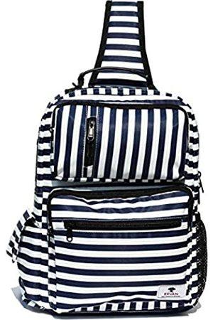 ESVAN Damen Taschen - Umhängetasche mit Blumenmuster, Schulterrucksack, Reiserucksack, Umhängetasche, Kuriertasche