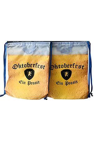Westman Works Herren Rucksäcke - Oktoberfest Taschenset Kordelzug Rucksack für Deutsches Bierfest Party 2 Stück