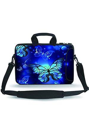 Baocool Laptop- & Aktentaschen - 14 15 15.4 15.6 inch Laptop Shoulder Bag Messenger Bag Case Notebook Handle Sleeve Neoprene Soft Carrying Tablet Travel Case with Accessories Pocket (14-15.6 inch)