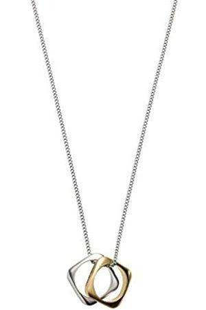 Emporio Armani Herren Halsketten - EGS2709040 Herren Collier Edelstahl Bicolor Gold