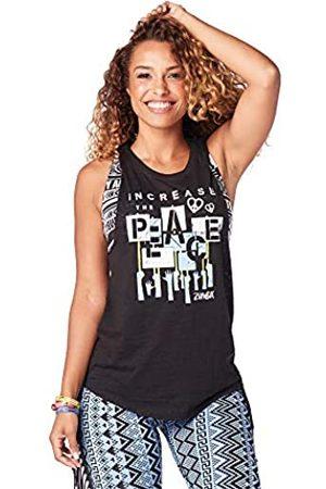 Zumba Fitness Damen Shirts - Zumba Aktiv Burnout Dance Workout Kleidung Damen Fitness-Tanktop mit Grafikdruck