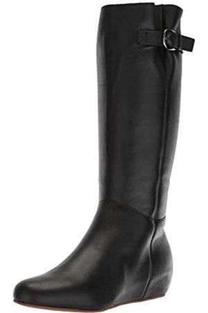 Blondo Monica Damen Stiefel, kniehoch, (schwarzes Leder)