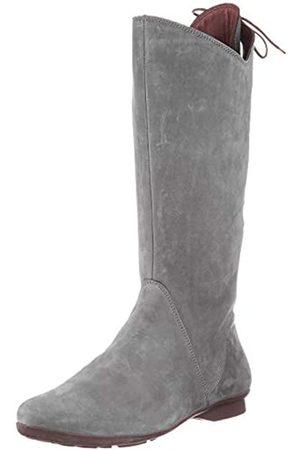 Think! Damen Overknees - Damen KESHUEL_3-000011 nachhaltige, leicht gefütterte Kniehohe Stiefel