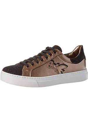 Patrizia Pepe PPJ504 Sneaker, Black + Bronze