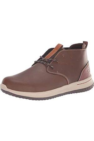 Skechers Herren Delson-Clenton Chukka Boots, (Brown BRN)