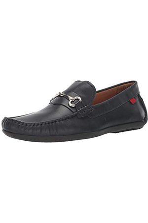 Marc Joseph New York Herren Halbschuhe - Herren Leder Made in Brazil Wall Street Loafer, (Navy Nappa)