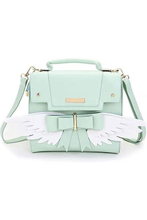 JHVYF Womens Casual Backpack PU Leather Purses Teenager Girls Fashion Daypack Cute School Satchel Bag Mint