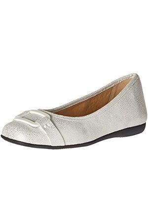 FrenchTrotters Damen Ballerinas - Damen Sizzle Flat, (White Pearl)