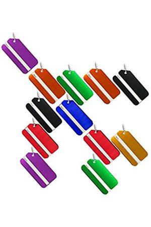 NIEGENNA Laptop- & Aktentaschen - NIEGIENNA-Luggage Tag ID Adresshalter Boarding Tags Tragbares Label Reisezubehör für Koffer Gepäck Beutel (12 Stück)