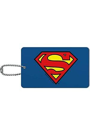Graphics and More Damen Reisetaschen - Superman Classic S Schild Logo Gepäckkarte Koffer Handgepäck ID Tag