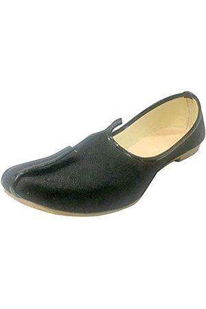 Step N Style Herren Halbschuhe - Joti Herren Traditionelle Jutti Pakistanische Schuhe Sherwani Schuhe Ethnische Schuhe