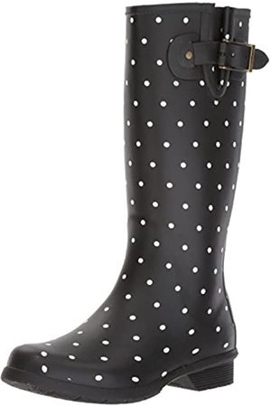 Chooka Damen Stiefel - Damen Women's Classic Tall Printed Rain Boot Regenstiefel