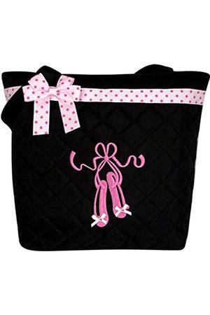 Gen SH Mädchen Umhängetaschen - Gesteppte Tasche für Mädchen mit pinker Schleife