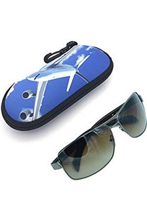 Wakaka Damen Reisetaschen - Ultraleichte, tragbare Reise-Schutztasche aus weichem Neopren mit Reißverschluss, für Sonnenbrillen, Schwimmbrillen und Brillen